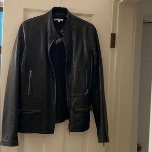 Vince moto jacket sz M